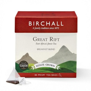 Birchall Great Rift Breakfast Blend Prism Tea Bags